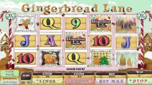 Gingerbread Lane slots