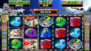 Rudolph's Revenge slots