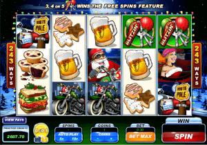 Santas Wild Ride slots