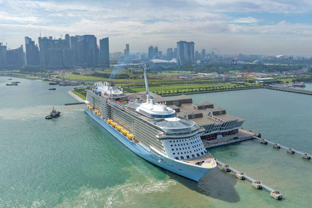 Eine Kurze Kreuzfahrt in Hongkong